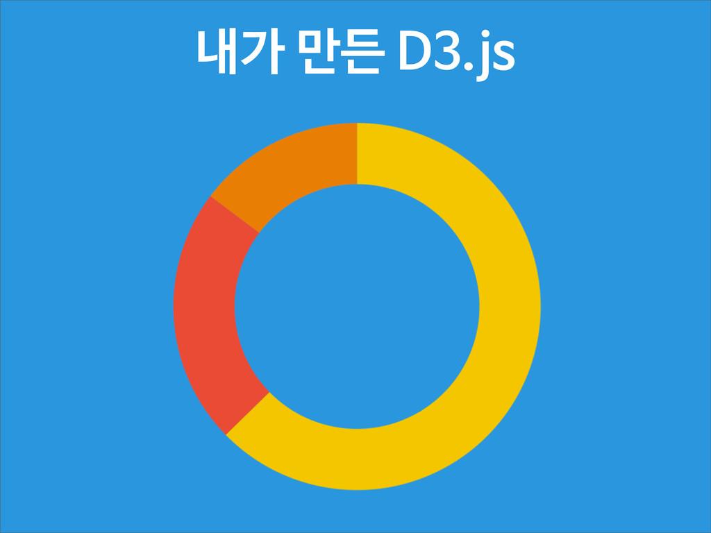 내가 만든 D3.js