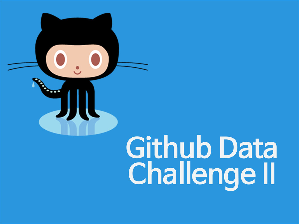 Github Data Challenge II