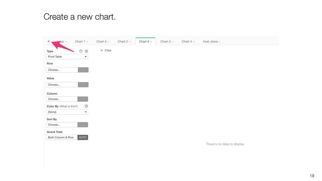 19 Create a new chart.