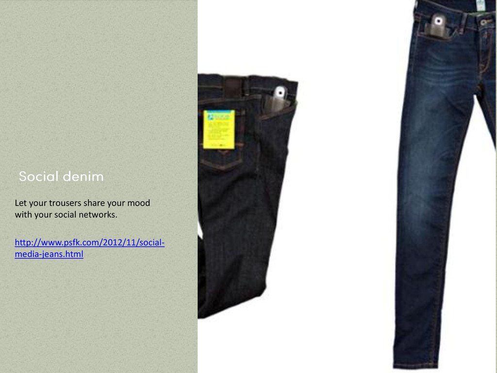 Let your trousers share your mood with your soc...