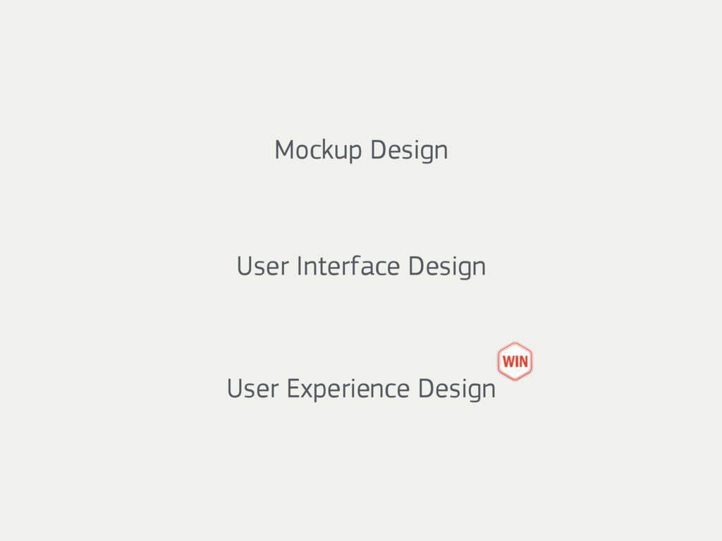 Mockup Design User Interface Design User Experi...
