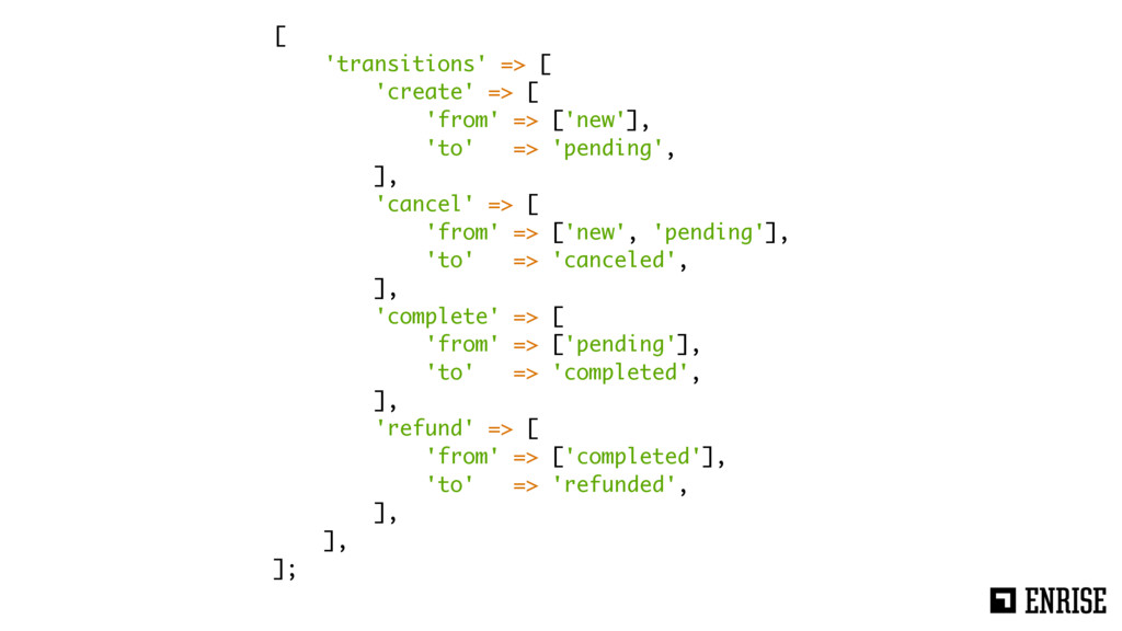 [ 'transitions' => [ 'create' => [ 'from' => ['...