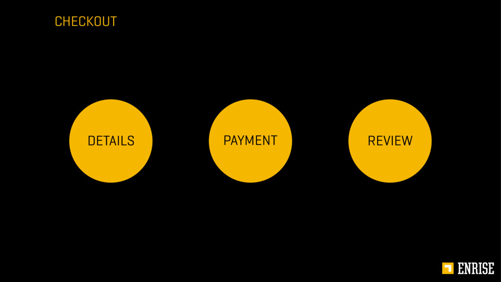 CHECKOUT PAYMENT DETAILS REVIEW