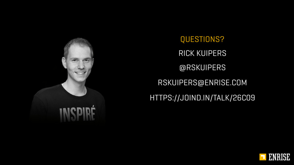 4 @RSKUIPERS RICK KUIPERS QUESTIONS? RSKUIPERS@...