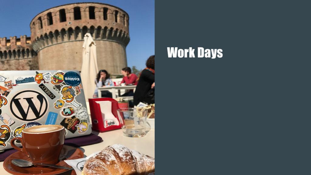 Work Days