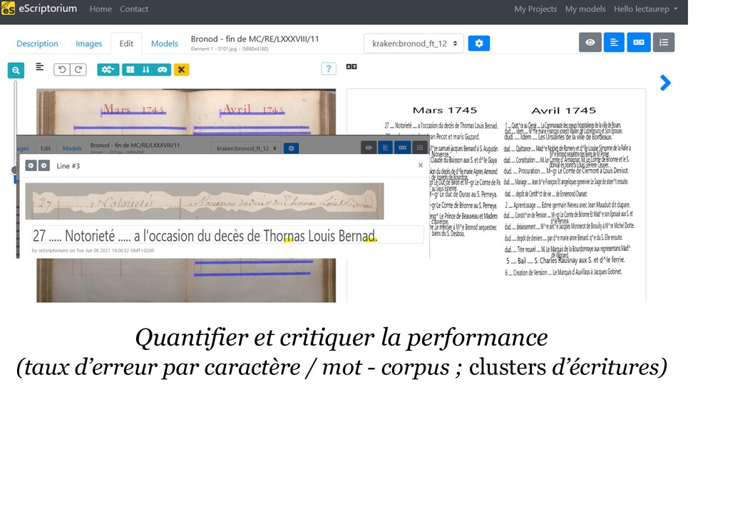 Quantifier et critiquer la performance (taux d'...