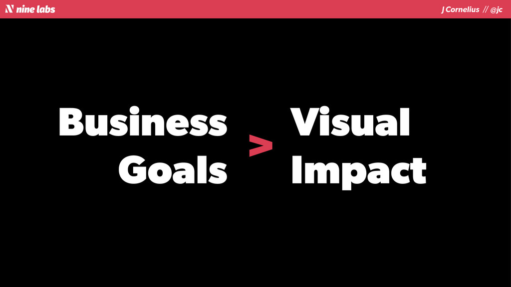 J Cornelius / / @jc Business Goals Visual Impac...