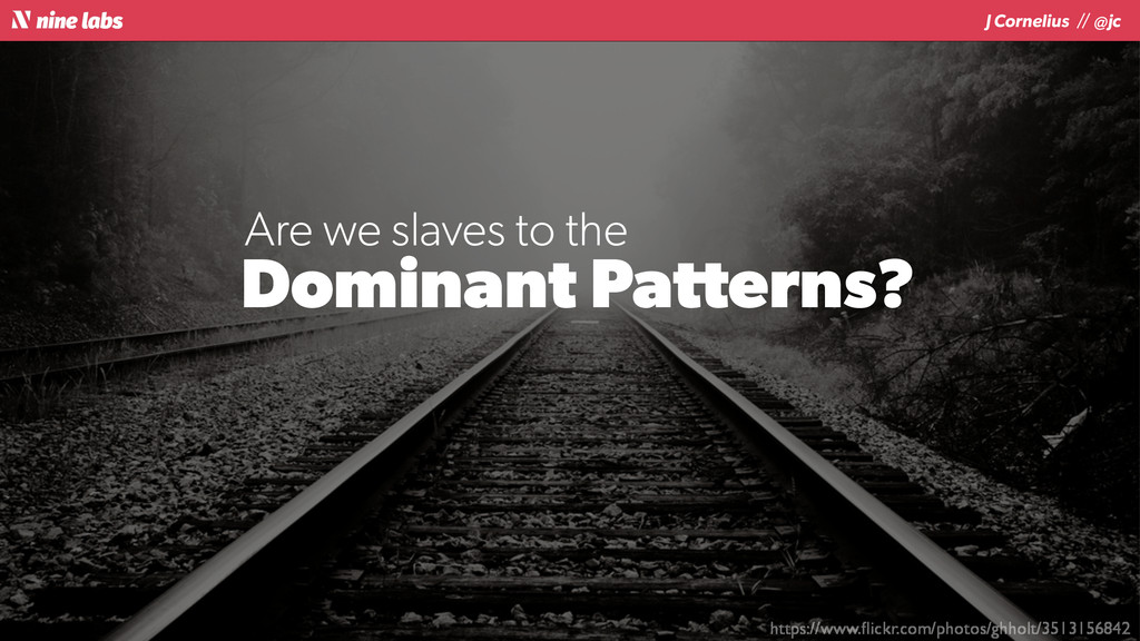 J Cornelius / / @jc Dominant Patterns? https://...