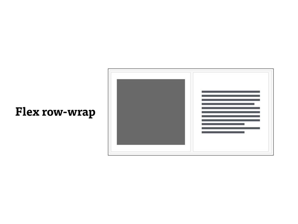 Flex row-wrap