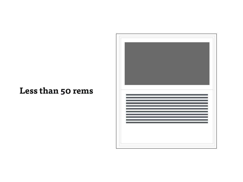 Less than 50 rems