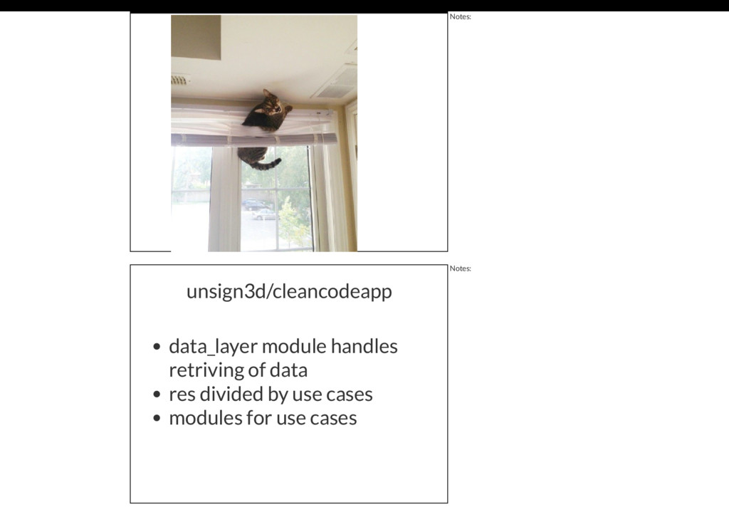 Notes: unsign3d/cleancodeapp data_layer module ...