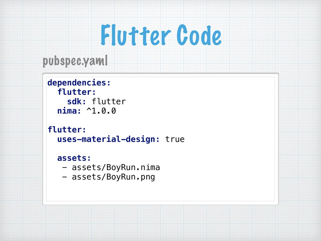 Flutter Code dependencies: flutter: sdk: flutte...