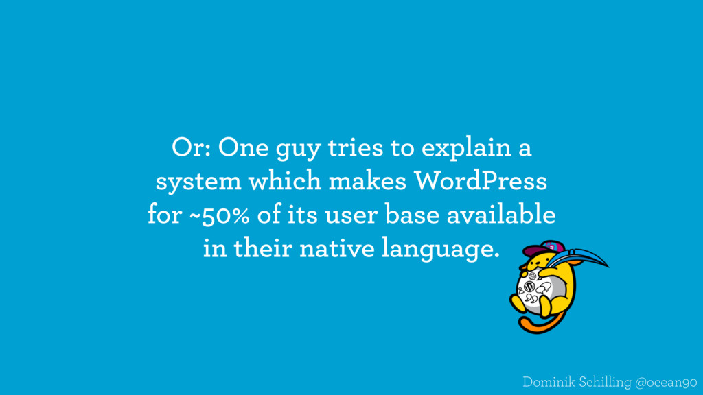 Or: One guy tries to explain a system which mak...