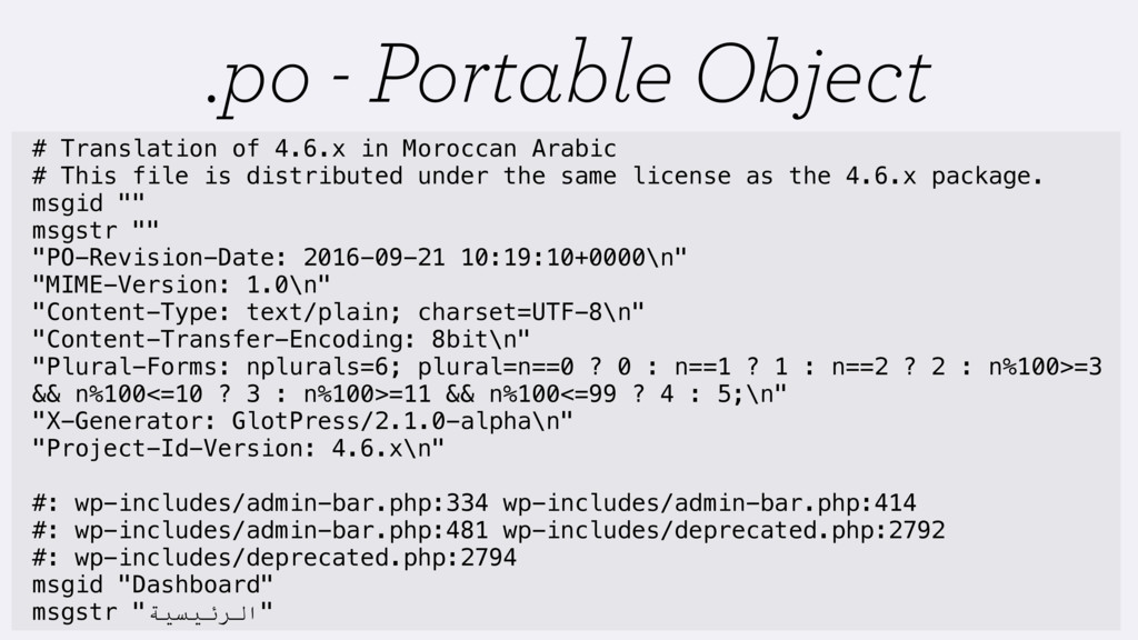 .po - Portable Object # Translation of 4.6.x in...