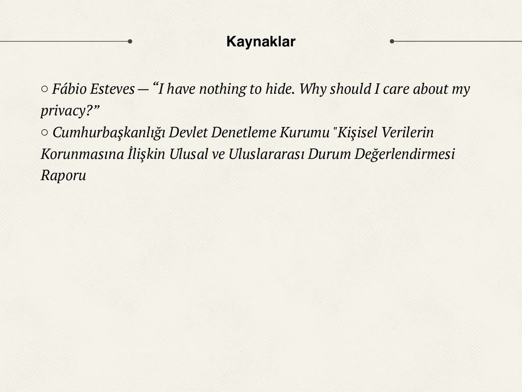 "Kaynaklar ○ Fábio Esteves — ""I have nothing to ..."