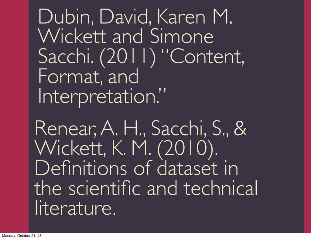 Trevor Munoz 2013 Dubin, David, Karen M. Wicket...