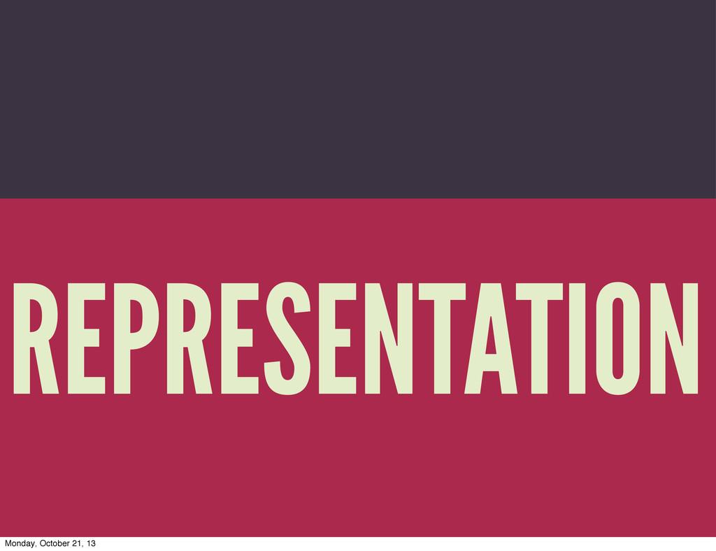 Trevor Munoz 2013 REPRESENTATION Monday, Octobe...