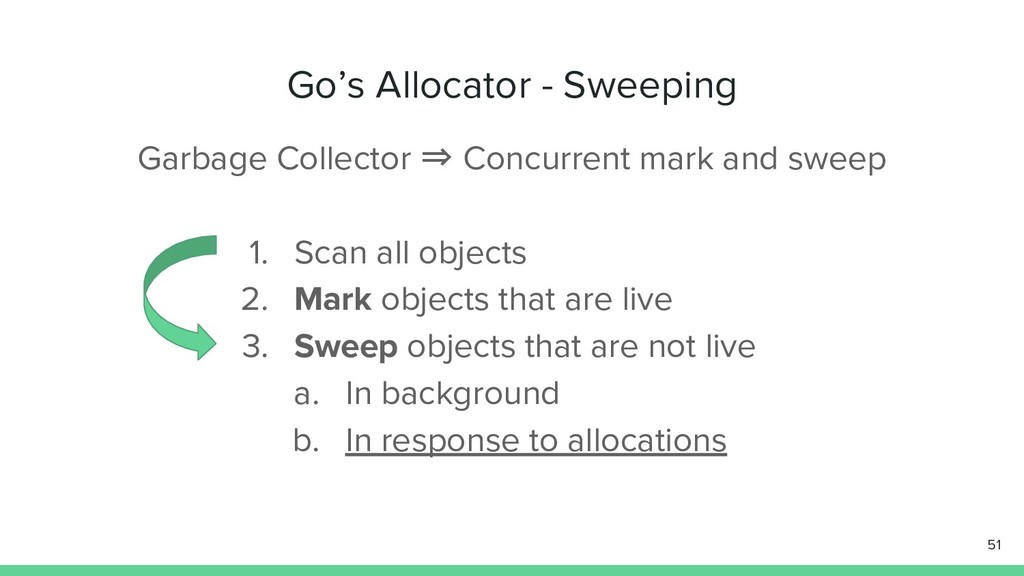 Garbage Collector ⇒ Concurrent mark and sweep 5...