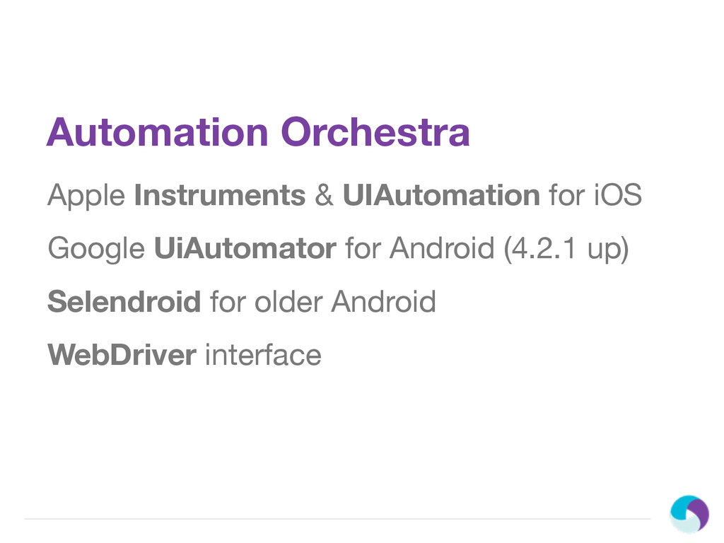 Automation Orchestra Apple Instruments & UIAuto...