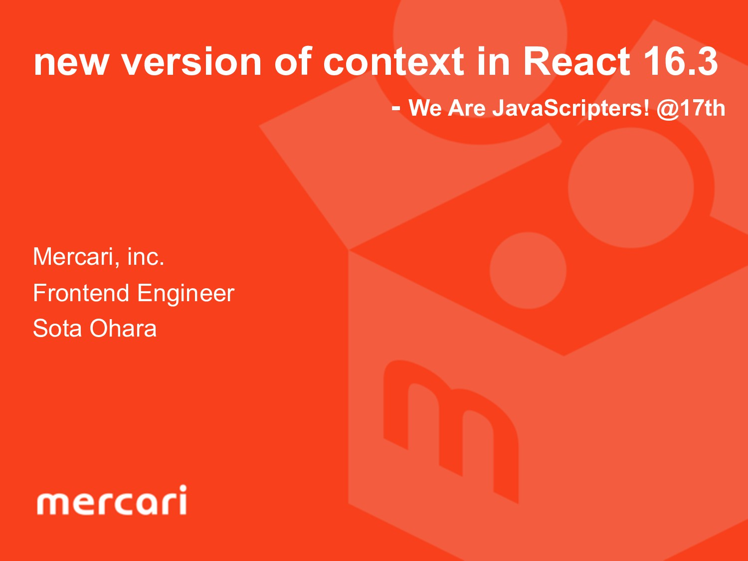 new version of context in React 16.3 - We Are J...
