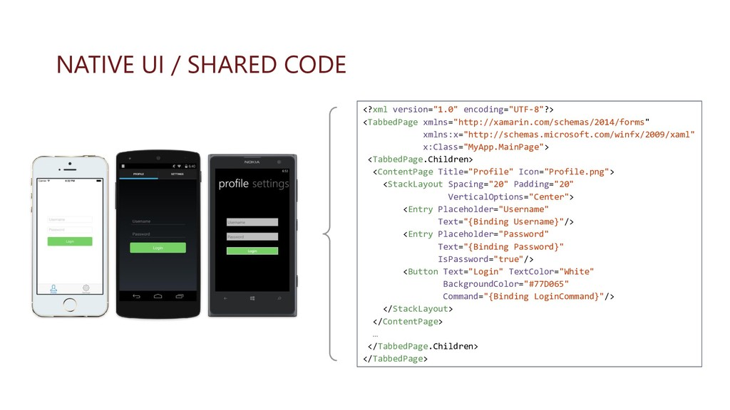 "NATIVE UI / SHARED CODE <?xml version=""1.0"" enc..."
