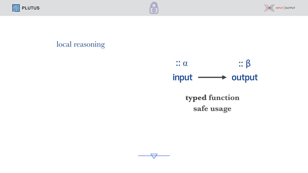 PLUTUS input output typed function safe usage :...