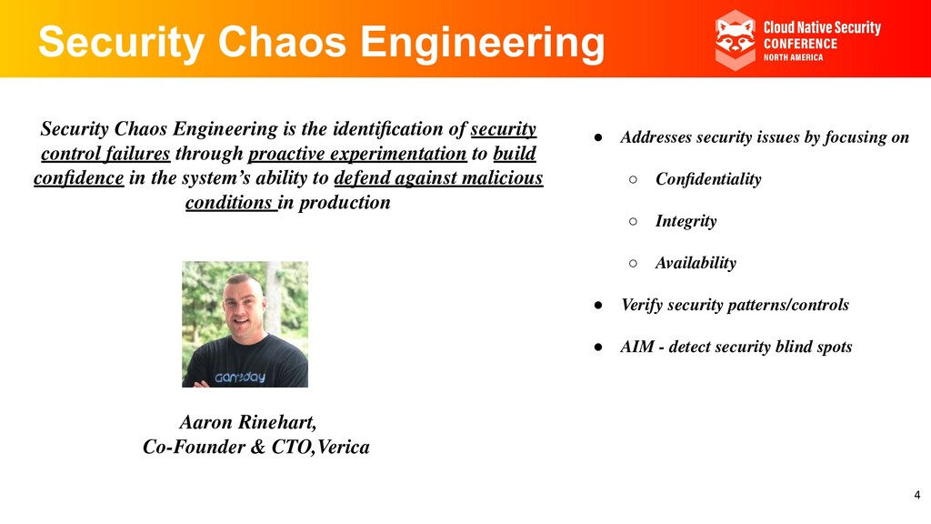 Security Chaos Engineering Security Chaos Engin...