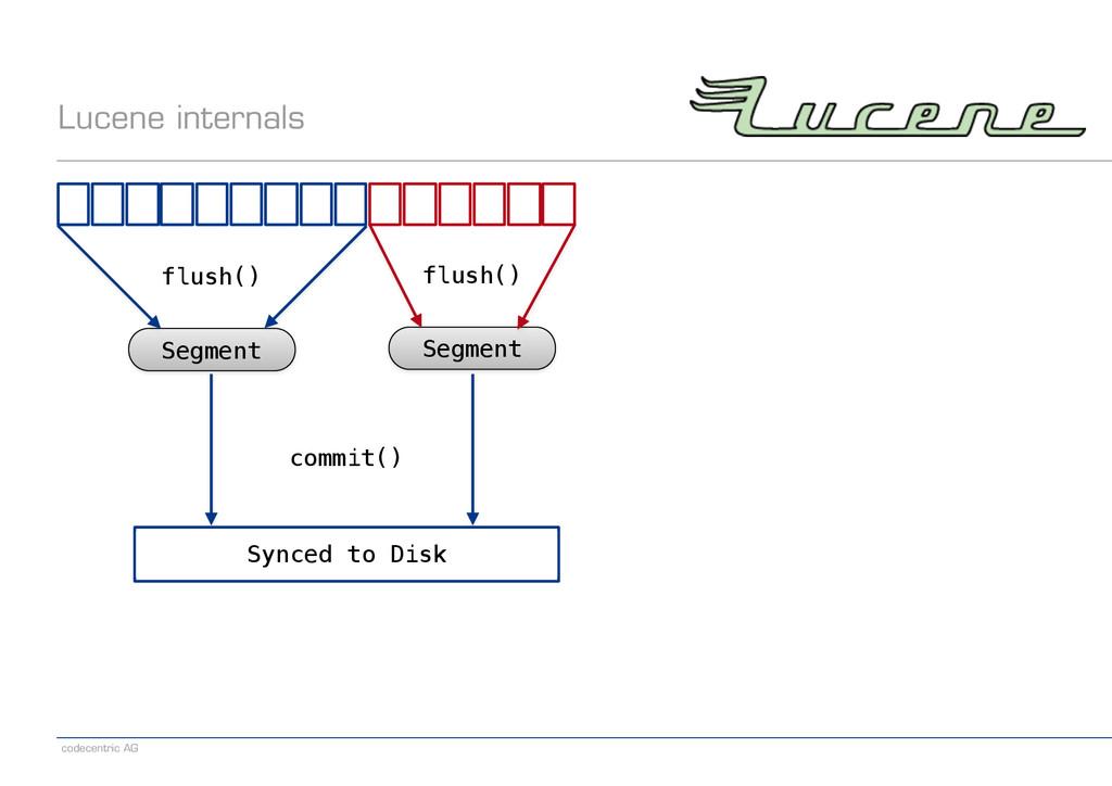 codecentric AG Lucene internals Segment flush()...