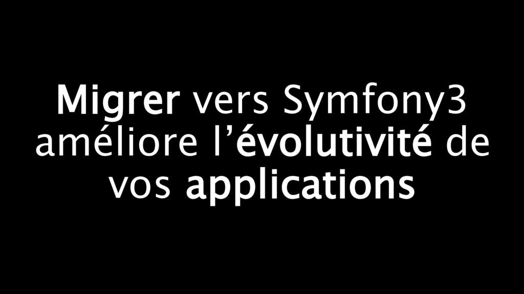 Migrer vers Symfony3 améliore l'évolutivité de ...