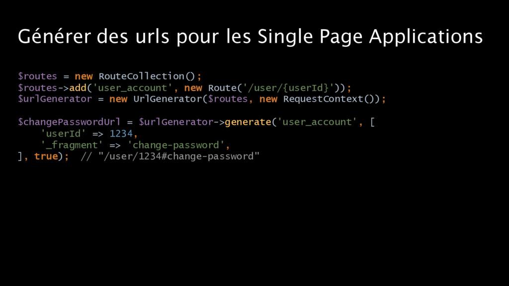 Générer des urls pour les Single Page Applicati...