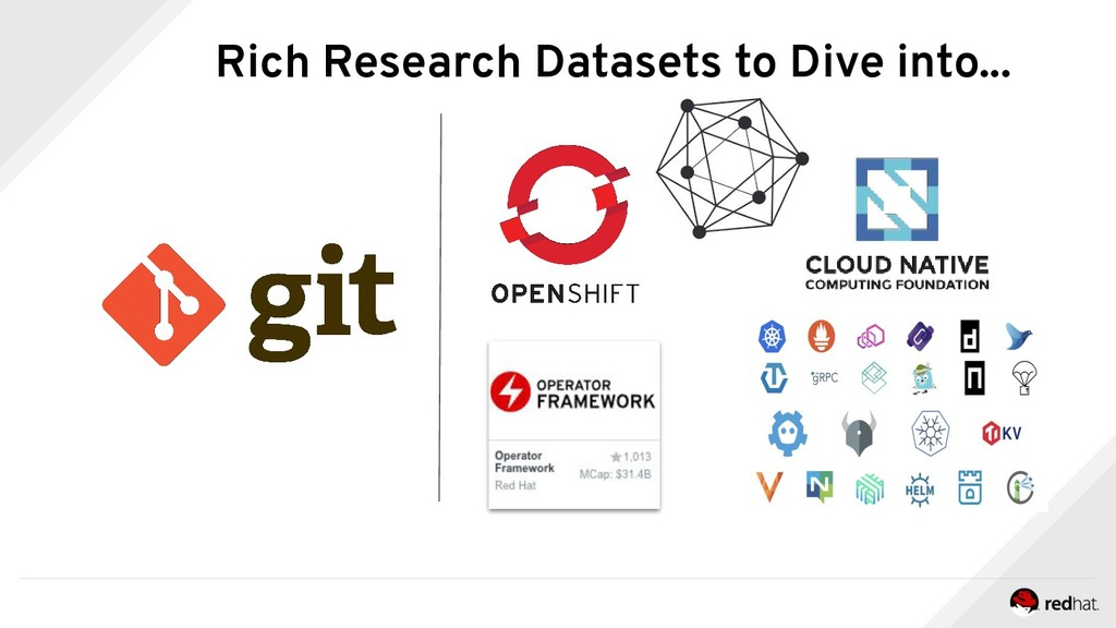 Rich Research Datasets to Dive into...
