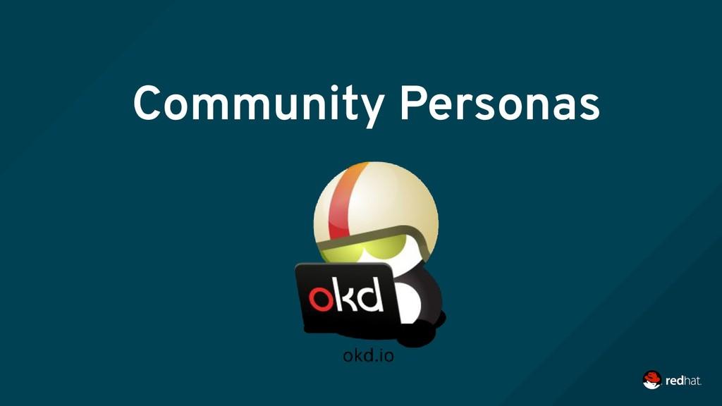 Community Personas