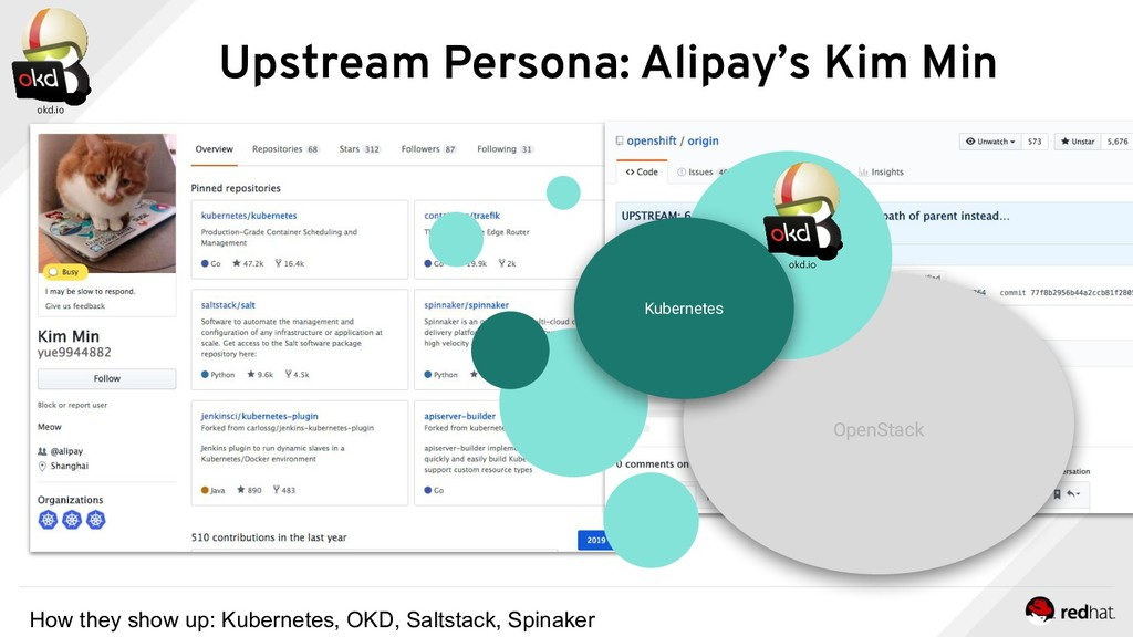 OpenStack OpenStack OKD Upstream Persona: Alipa...
