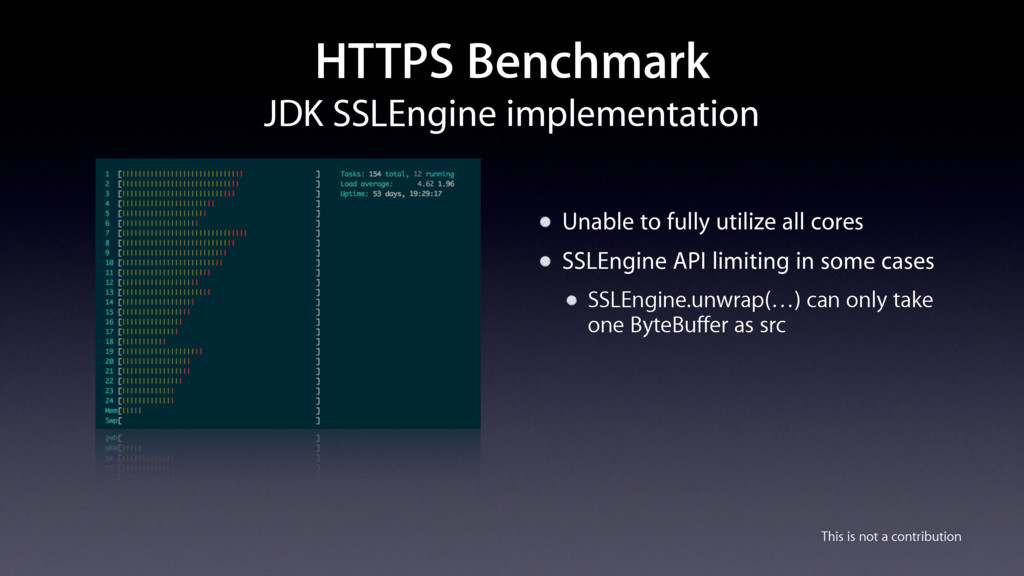 This is not a contribution HTTPS Benchmark JDK ...