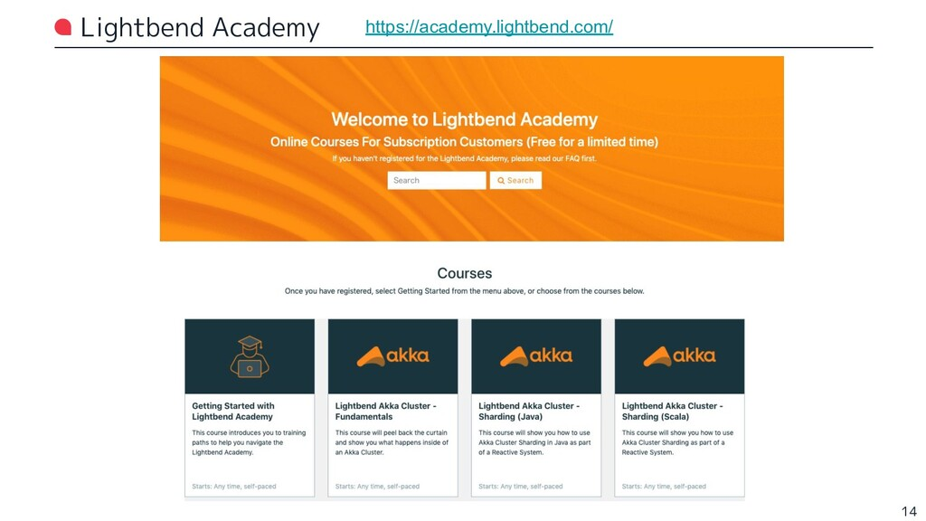 Lightbend Academy 14 https://academy.lightbend....