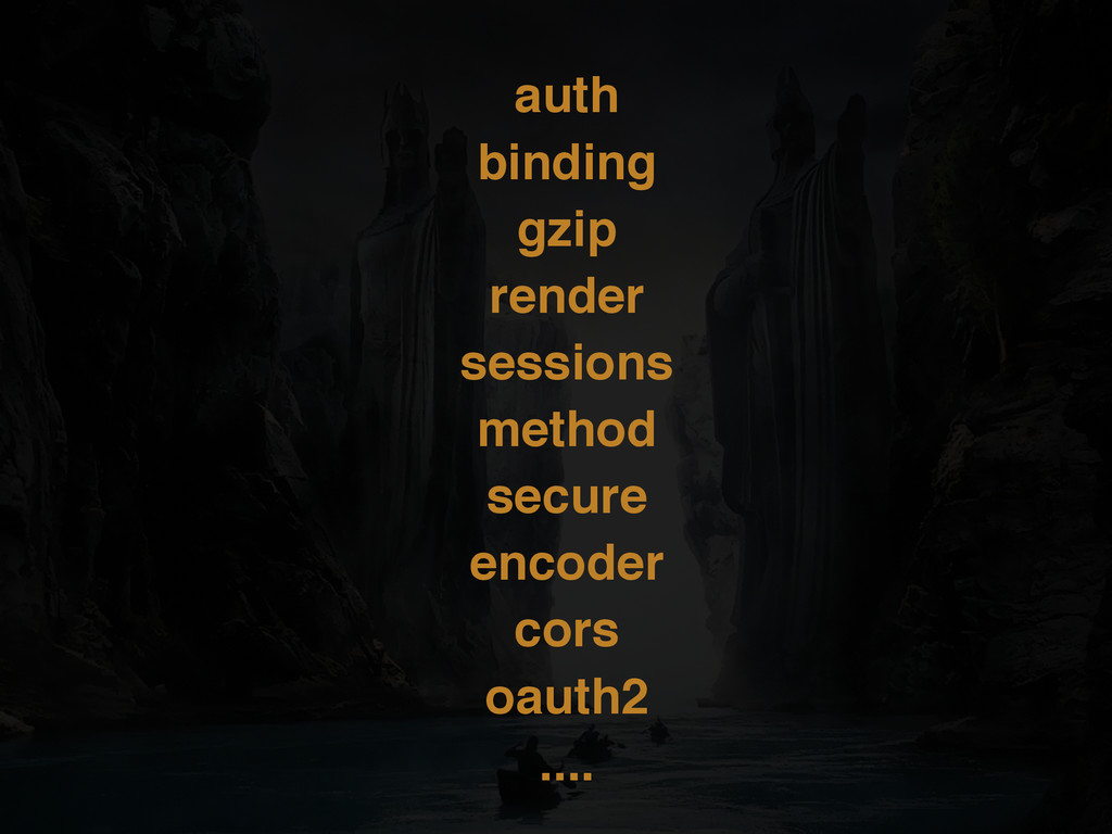 auth binding gzip render sessions method secure...
