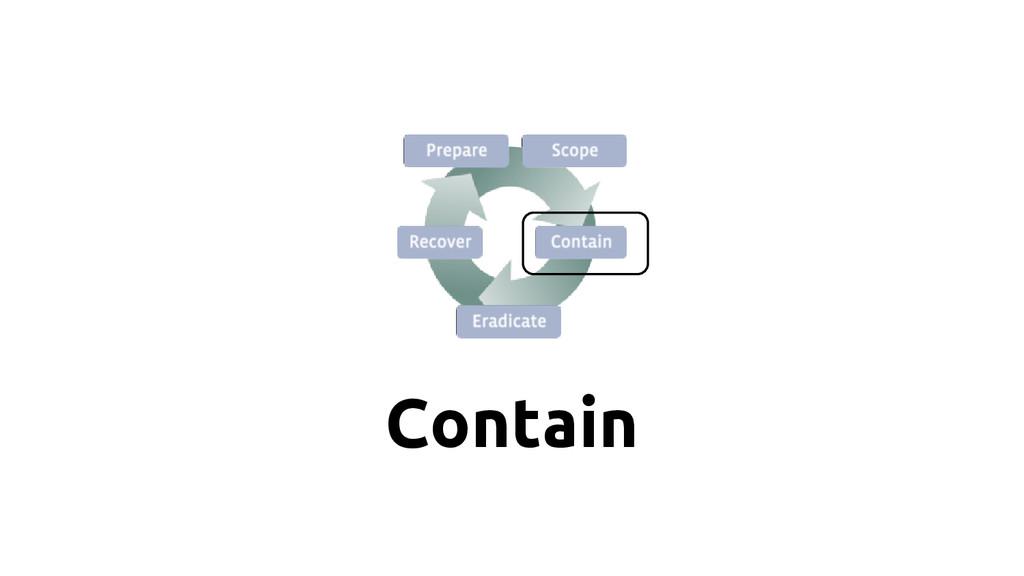 Contain