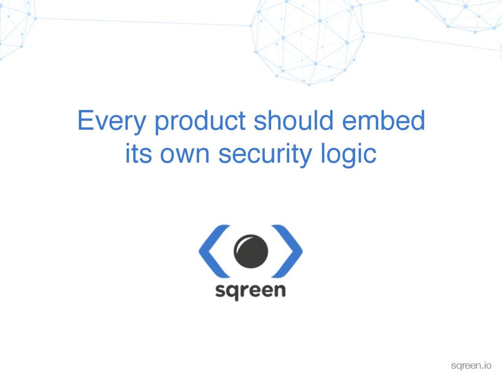 Confidential & proprietary sqreen.io Every produ...