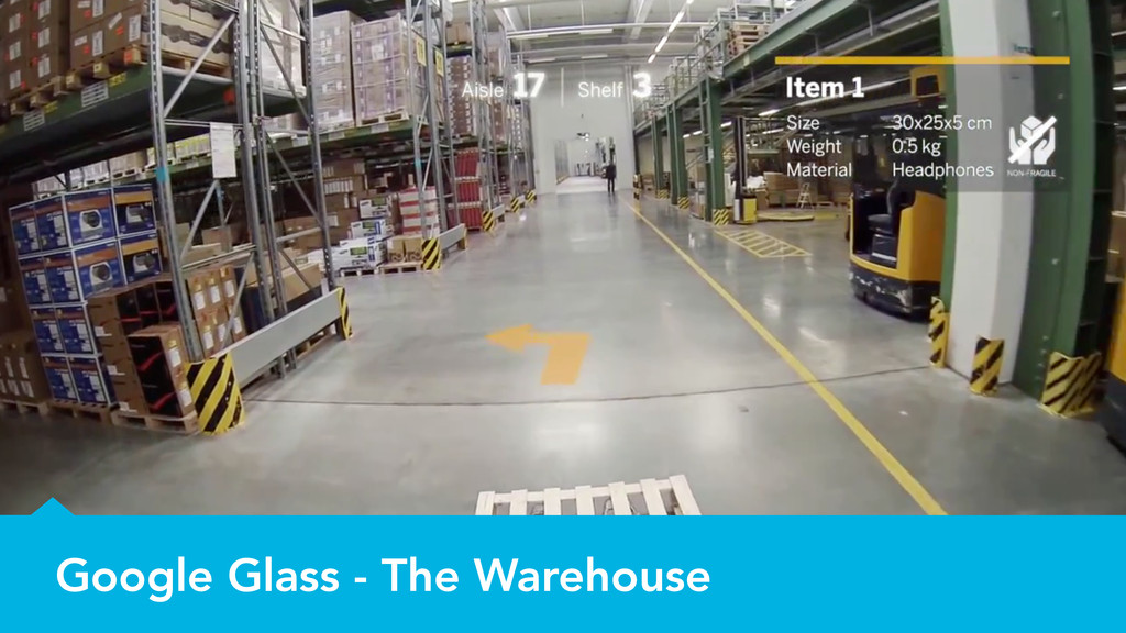 Google Glass - The Warehouse