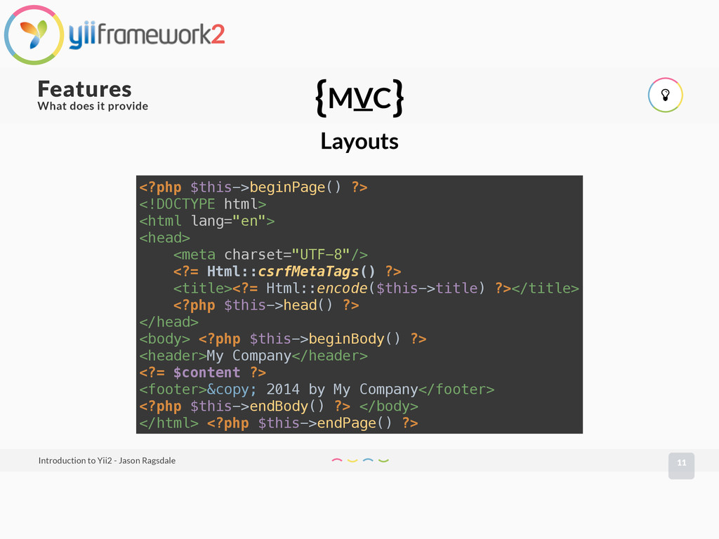 What does it provide 11 Features Introduction t...