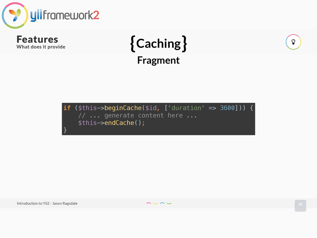 What does it provide 31 Features Introduction t...