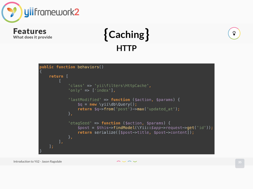What does it provide 35 Features Introduction t...