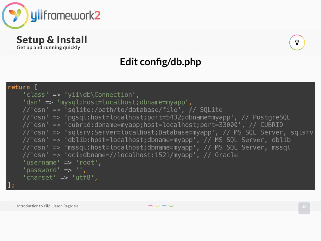 48 Setup & Install Introduction to Yii2 - Jason...