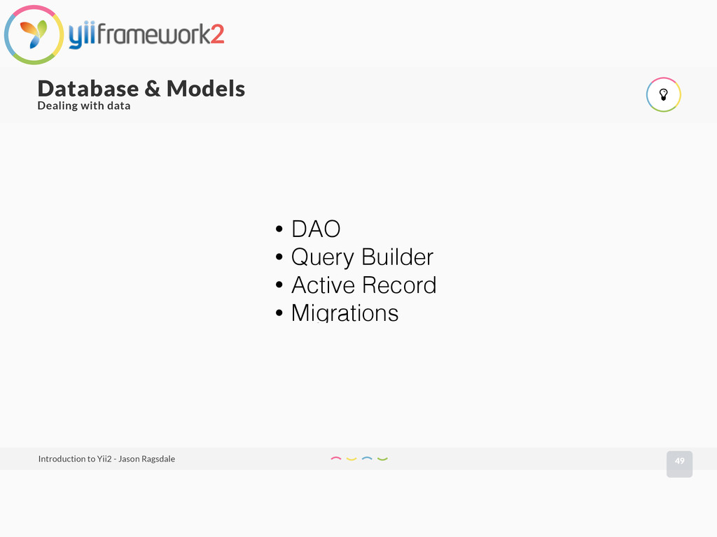 49 Database & Models Introduction to Yii2 - Jas...