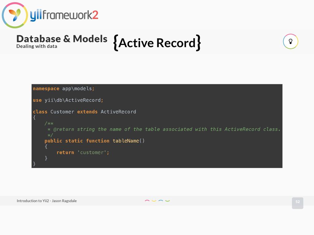 52 Database & Models Introduction to Yii2 - Jas...