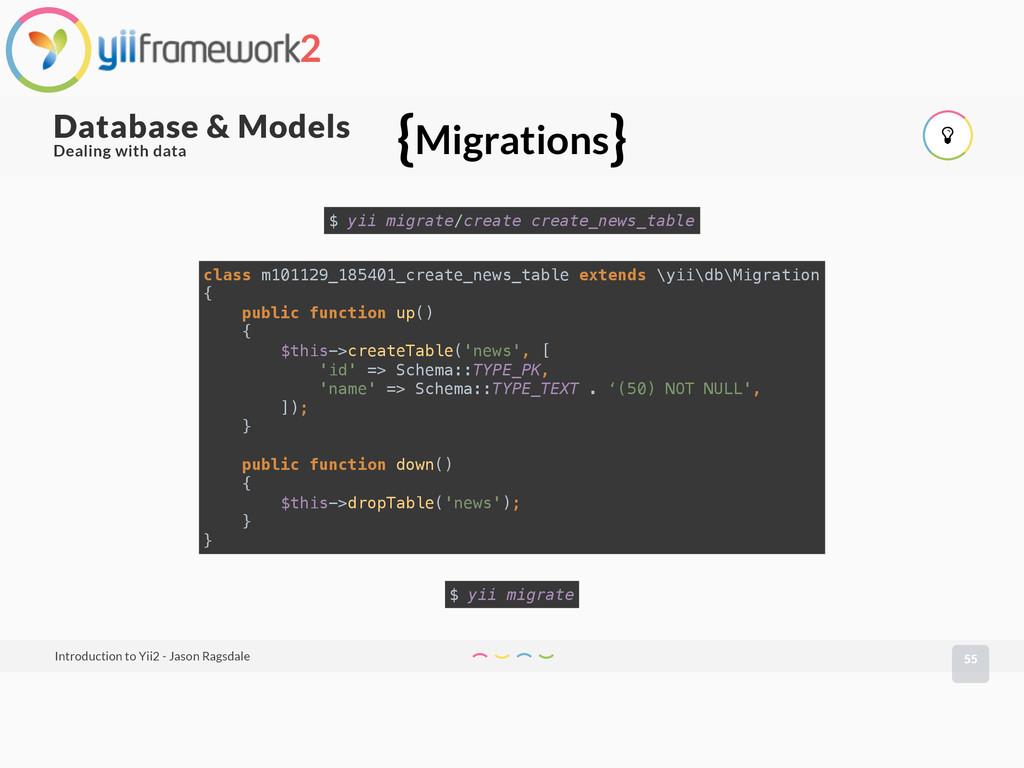 55 Database & Models Introduction to Yii2 - Jas...
