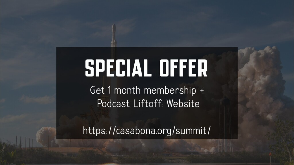 SPECIAL OFFER Get 1 month membership + Podcast ...