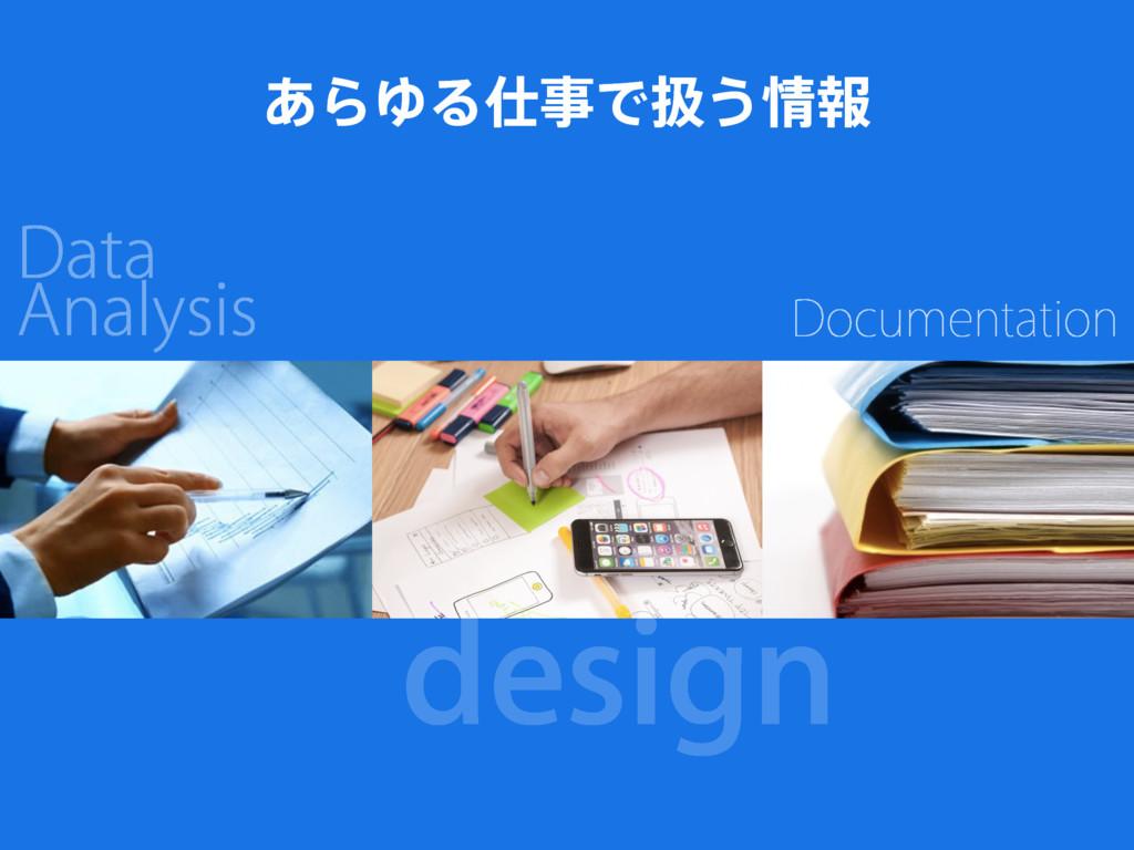 design Data Analysis Documentation ͋ΒΏΔͰѻ͏ใ