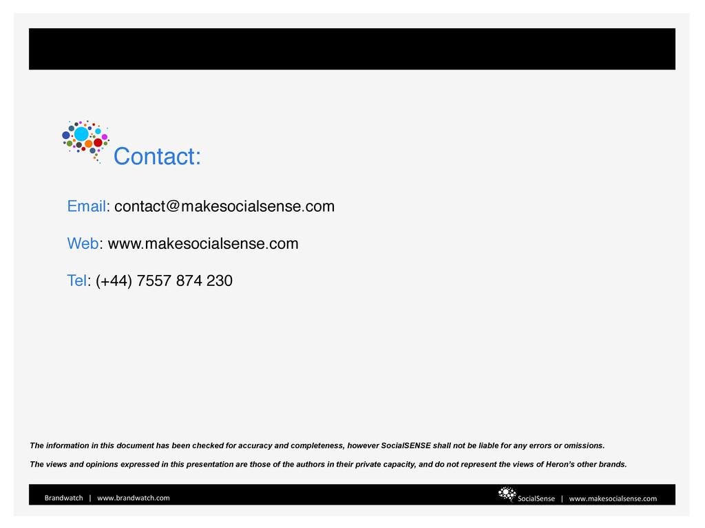 Email: contact@makesocialsense.com! ! Web: www....