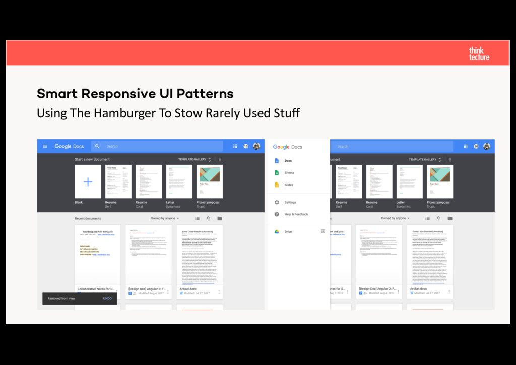 Using The Hamburger To Stow Rarely Used Stuff Sm...